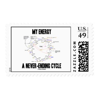 My Energy A Never-Ending Cycle (Krebs Cycle) Stamps