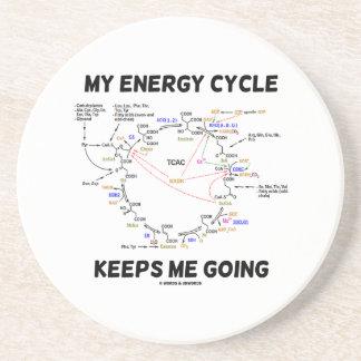 My Energy Cycle Keeps Me Going (Krebs Cycle) Coaster