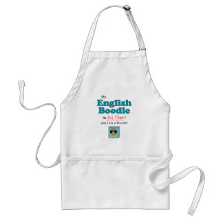 My English Boodle is All That! Aprons