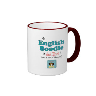 My English Boodle is All That! Coffee Mugs