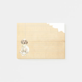 My English Setter Ate My Homework Post-it Notes