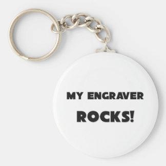 MY Engraver ROCKS! Keychain
