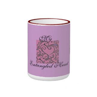 My Entangled Heart Ringer Mug