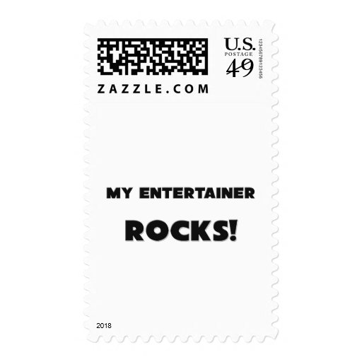 MY Entertainer ROCKS! Stamp