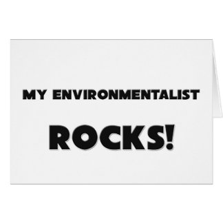 MY Environmentalist ROCKS Card