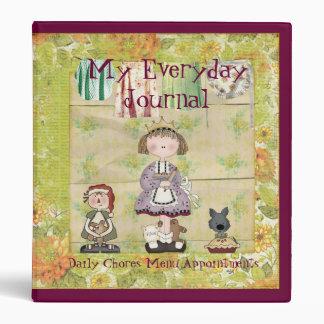 My Everyday Journal binder