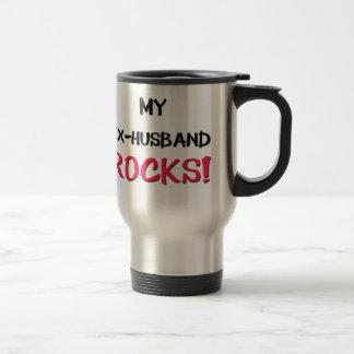 My Ex-Husband Rocks Coffee Mugs