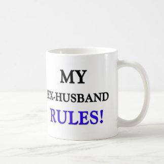 My Ex-Husband Rules Mug
