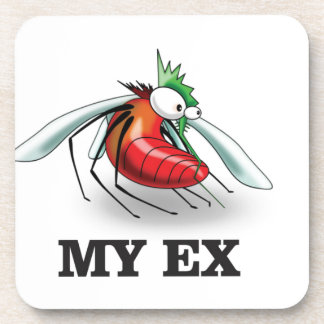 my ex spouse drink coaster