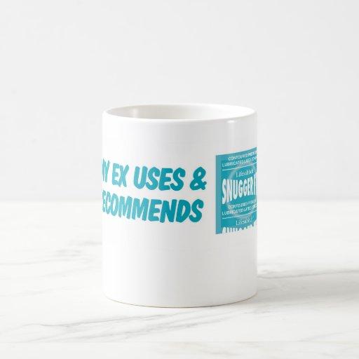 My EX uses Snuggerfits Classic White Coffee Mug