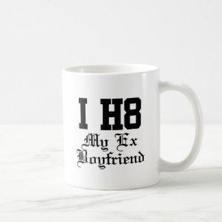 my exboyfriend classic white coffee mug