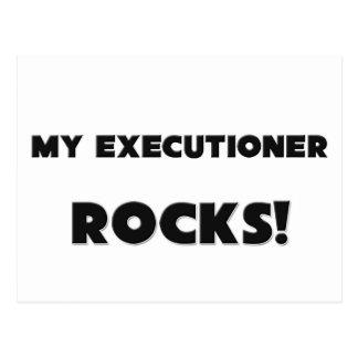 MY Executioner ROCKS! Postcard
