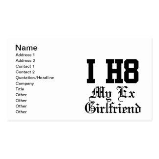 my exgirlfriend business card