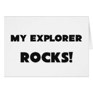 MY Explorer ROCKS Greeting Cards