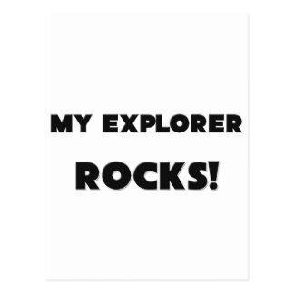 MY Explorer ROCKS Post Card