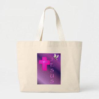 My Expression Of Jesus Jumbo Tote Bag
