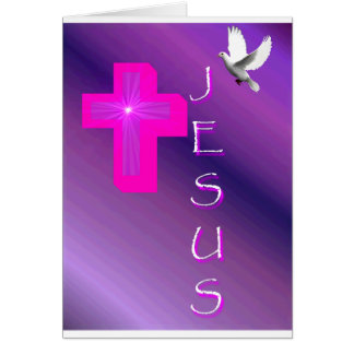 My Expression Of Jesus Greeting Card