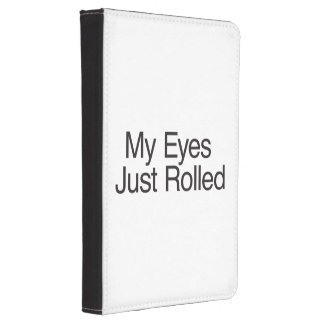 My Eyes Just Rolled ai Kindle Cover