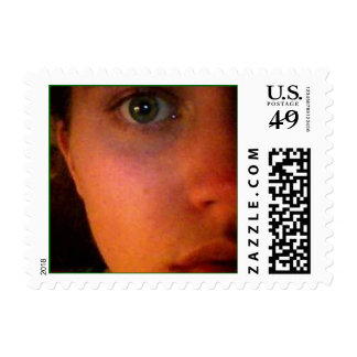 My eyes. postage stamps