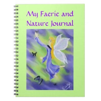 My Faerie and Nature Journal Spiral Notebooks