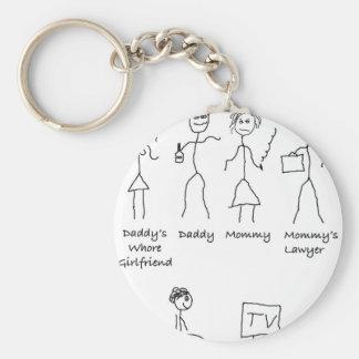 My-Family-4 Keychain