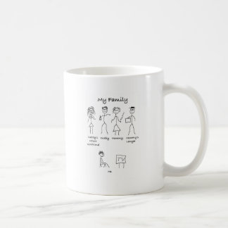 My-Family-4 Classic White Coffee Mug