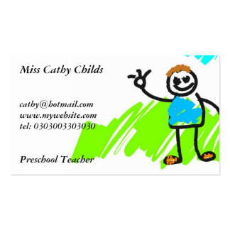 My Family Business Card
