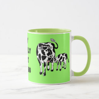 My family eat grass mug