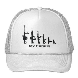 My Family (I Love Guns) Trucker Hat