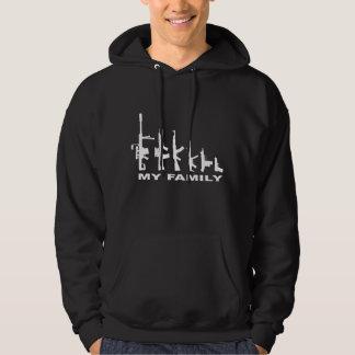 My Family (I Love Guns) Hooded Sweatshirt