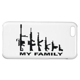 My Family (I Love Guns) iPhone 5C Covers