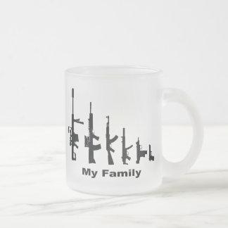 My Family (I Love Guns) Coffee Mugs
