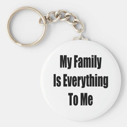My Family Is Everything To Me Keychain Zazzlecom