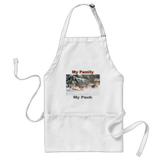 My family My pack Line Apron