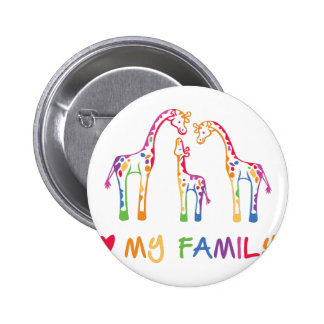 My Family Pinback Button