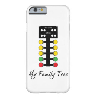 My Family Tree - Drag Racing Christmas Tree Barely There iPhone 6 Case