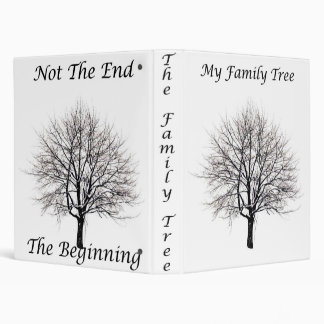 My Family Tree Front 3 Ring Binder