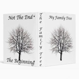 My Family Tree Front Vinyl Binders