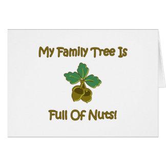 My Family Tree Greeting Card