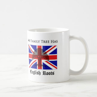 """My Family Tree Has English Roots"" mug"