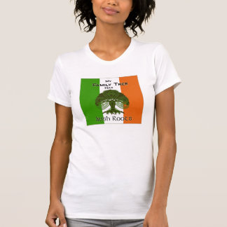 """My Family Tree Has Irish Roots"" tshirt"