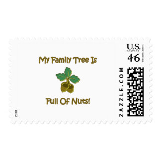 My Family Tree Postage Stamp