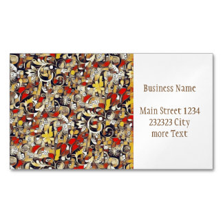 My Fantasy World 38 Magnetic Business Card