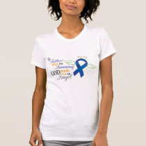 My Father An Angel - Anal Cancer T-Shirt