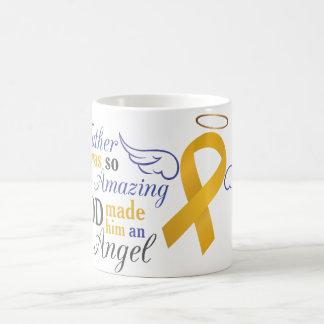 My Father An Angel - Appendix Cancer Coffee Mug
