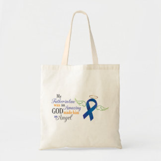 My Father-In-Law An Angel - Anal Cancer Tote Bag