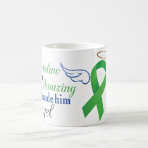 My Father-in-Law An Angel - Bile Duct Cancer Coffee Mug