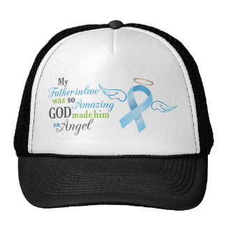 My Father in law An Angel - Prostate Cancer Trucker Hat