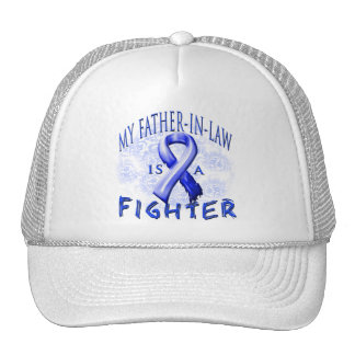 My Father-In-Law Is A Fighter Blue Trucker Hat