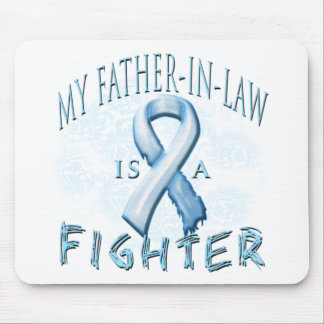 My Father-In-Law is a Fighter Light Blue Mouse Pad